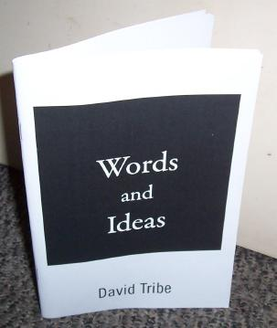 Photo of Words & ideas book